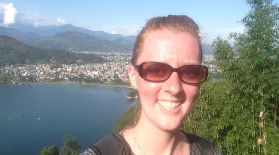 Ann A in Nepal
